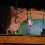 postman pat, cat and a pig