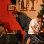 four actors in house scene