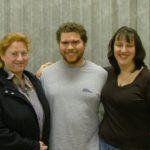 three actors posing for photo