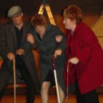 there actors playing elderly people